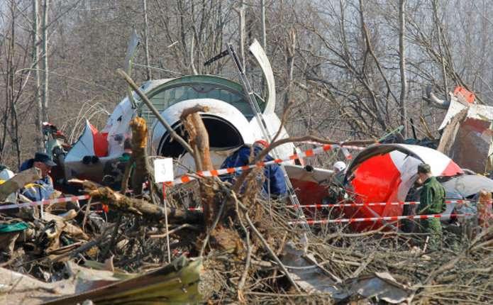 Причиною авіакатастрофи під Смоленськом міг бути вибух