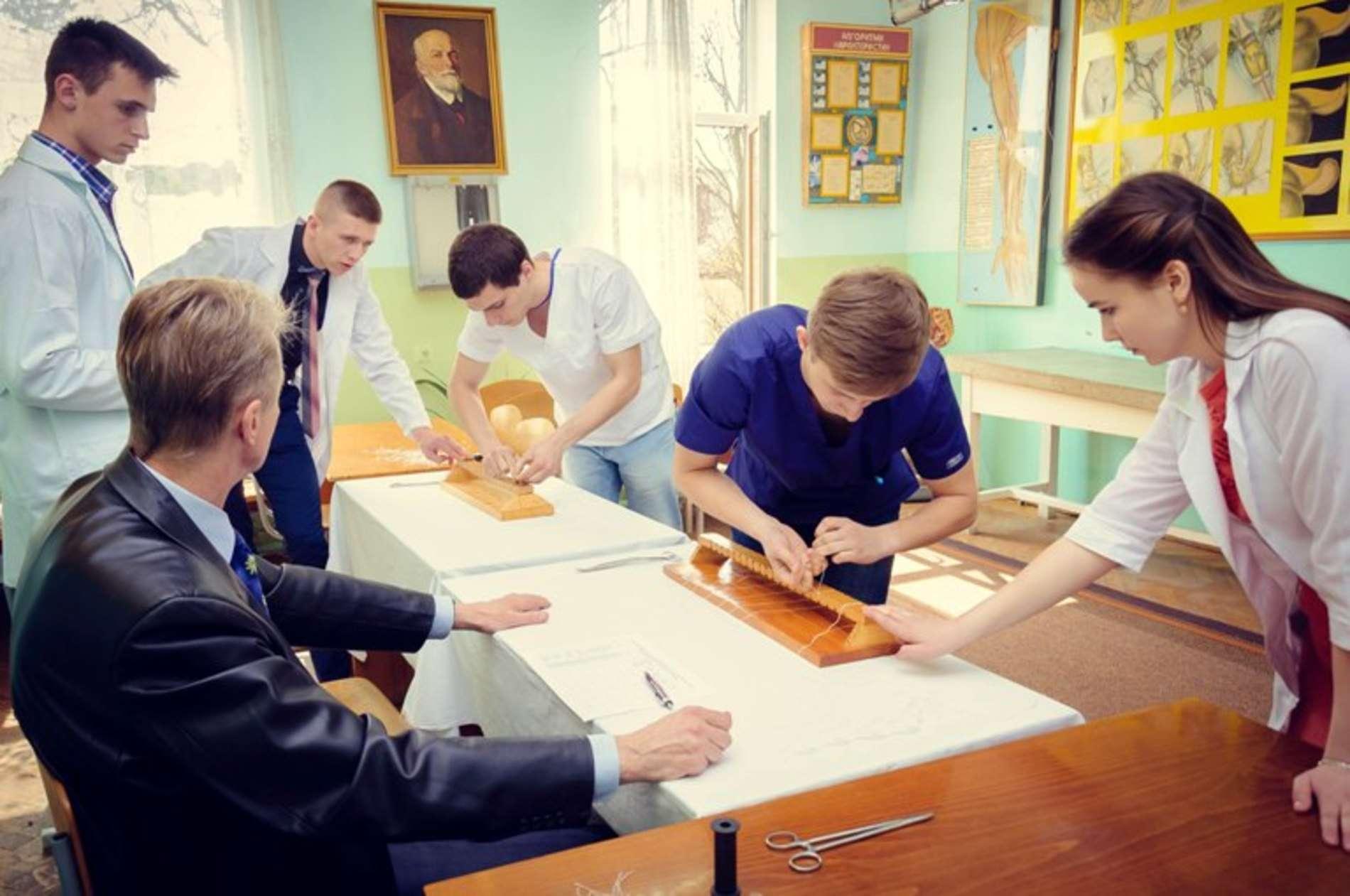 У БДМУ пройшла Всеукраїнська студентська олімпіада з оперативної хірургії