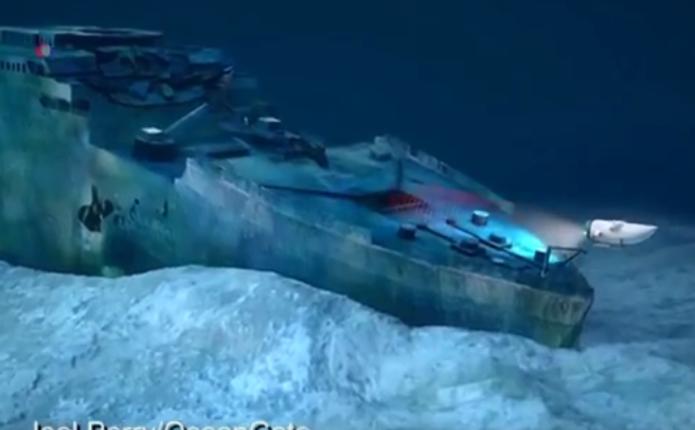 З 2018 року почнуть проводити екскурсії до затонулого Титаніка