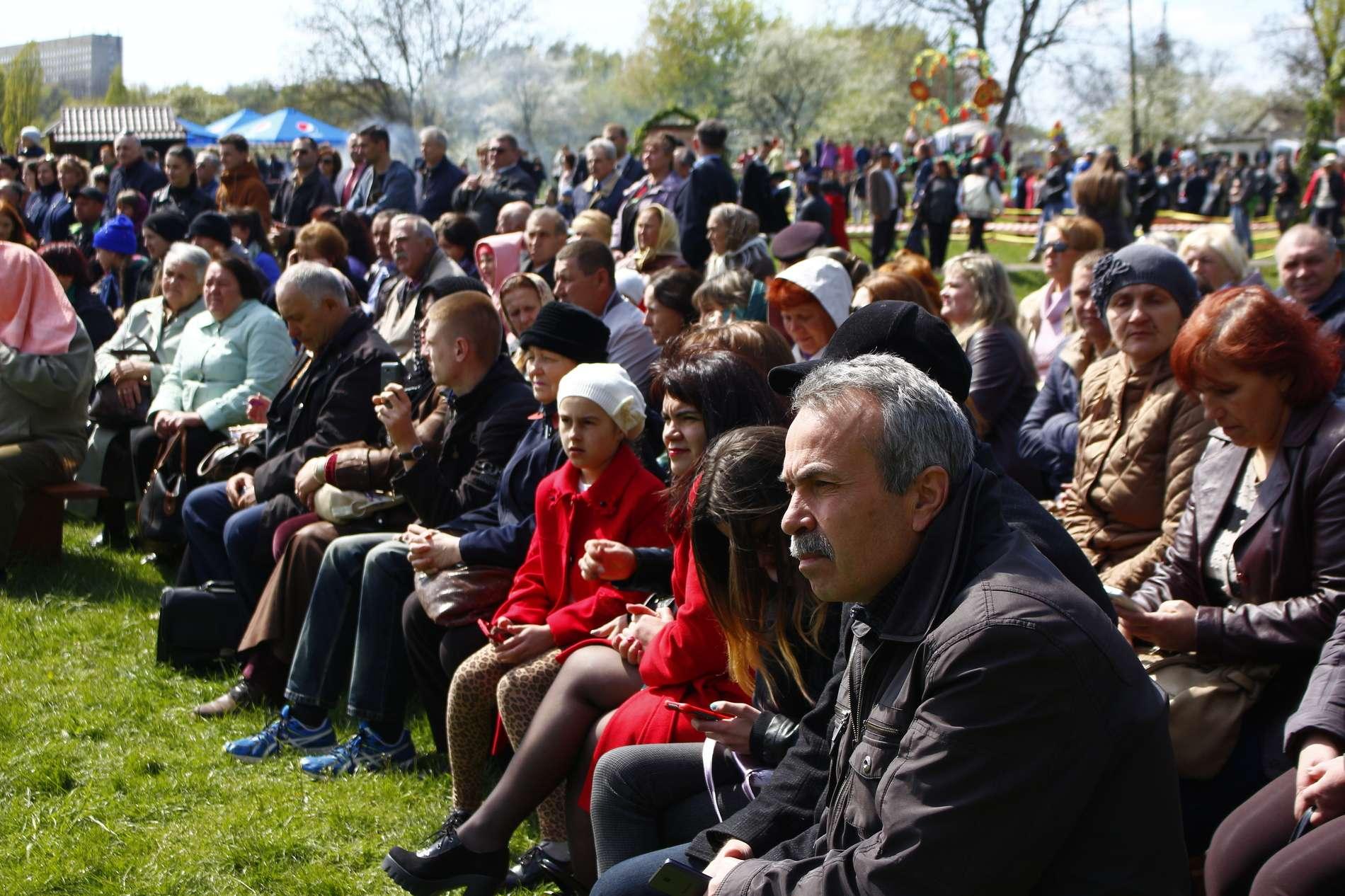 У Чернівцях втретє провели фестиваль Христос воскрес! Воскресне Україна!