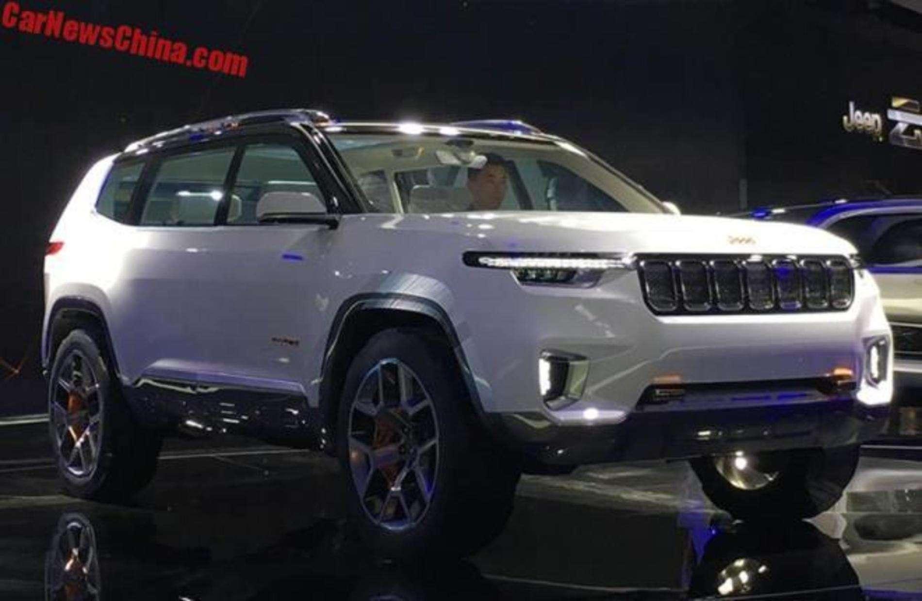 У Китаї представили концептуальний кросовер Jeep Yuntu