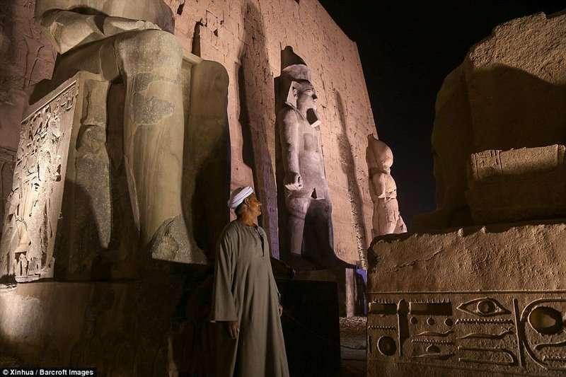 У єгипетському Луксорі відкрили відновлену статую фараона Рамзеса II