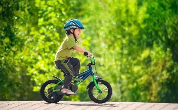 Розробили безпечний дитячий велосипед