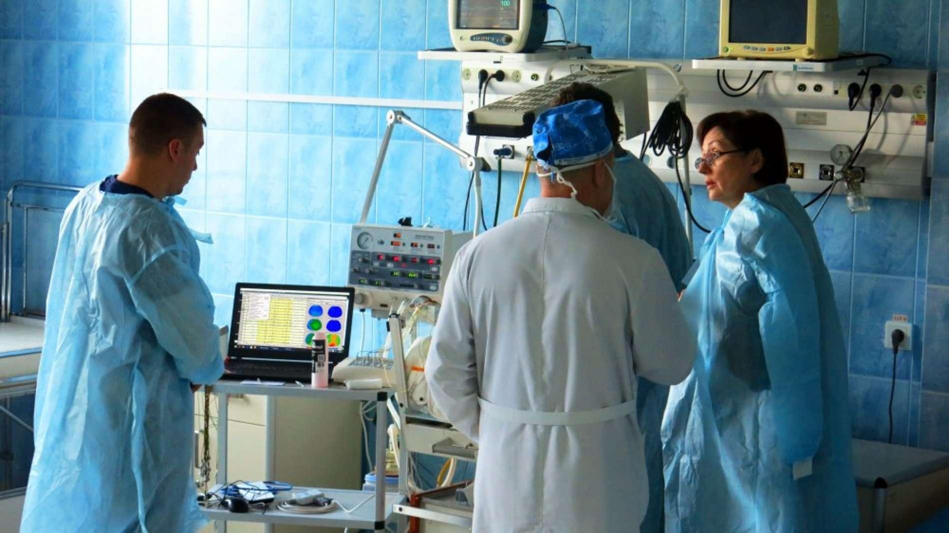 У дитячій лікарні Чернівців впроваджена нова сучасна медична технологія