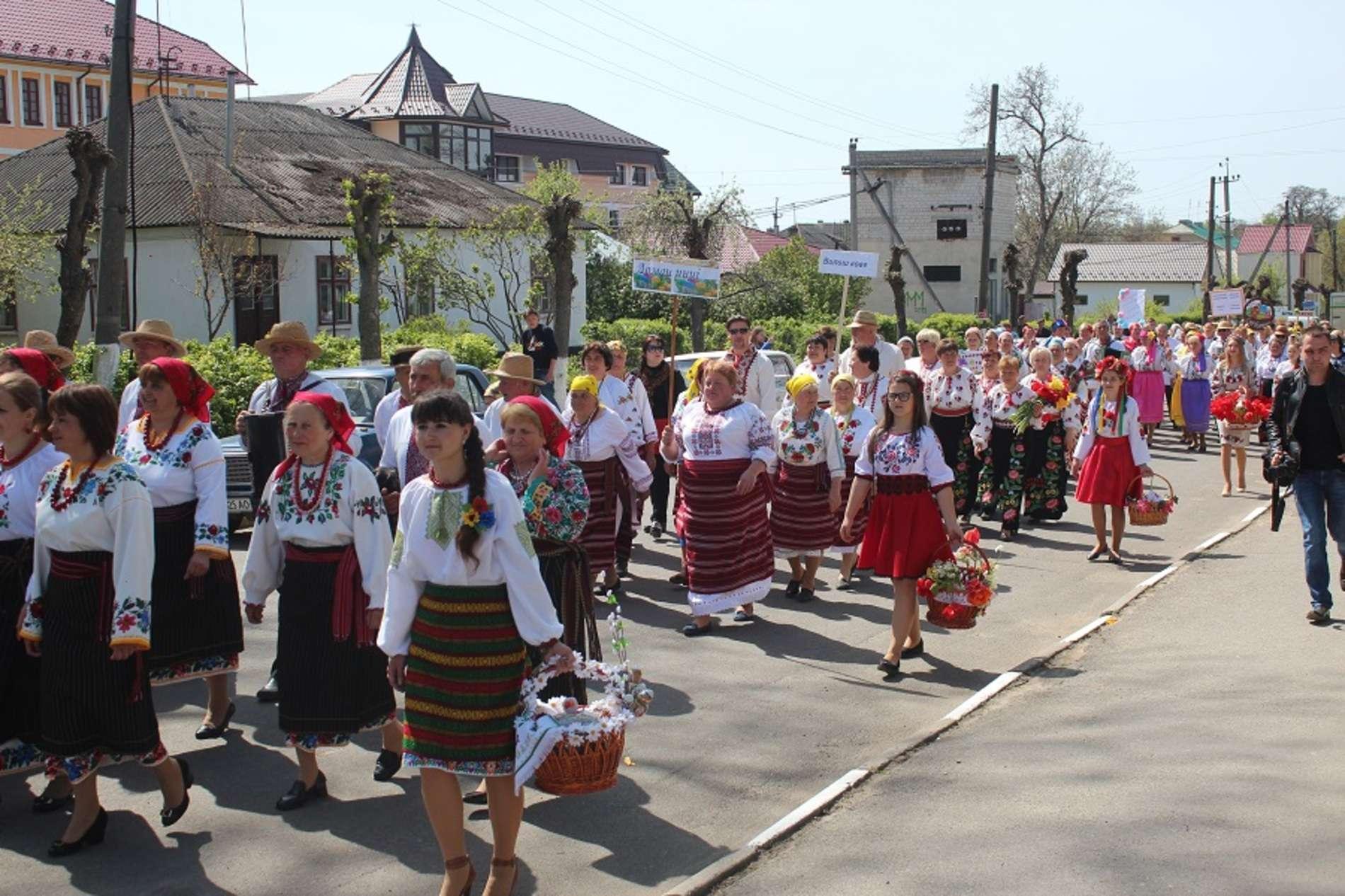 Фольклорне свято З глибини віків об'єднало всі населені пункти Сокирянщини