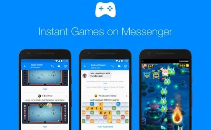 Facebook оголосив про запуск ігор в мережі