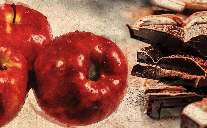 Яблуко та чорний шоколад: омолоджувальний диво-мікс