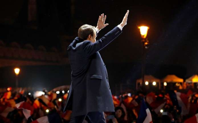 Макрона офіційно оголосили обраним президентом Франції