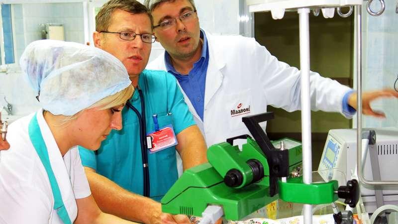 У Чернівцях столичні кардіохірурги провели операцію на серці у двомісячної дитини