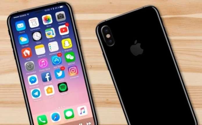 Вперше показали макет iPhone 8