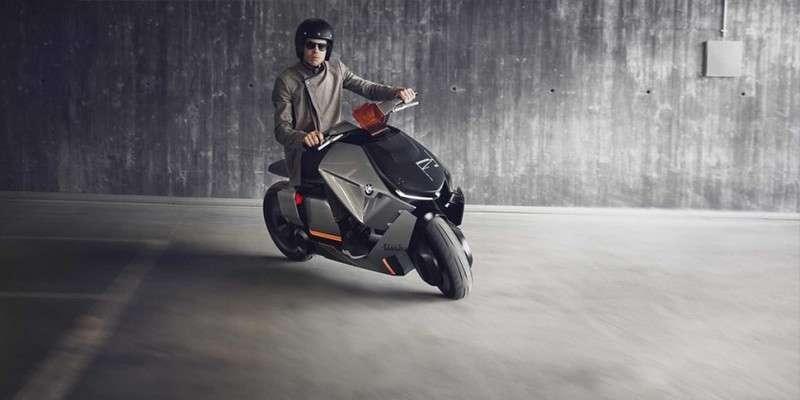 Компанія BMW створила міський мотоцикл майбутнього
