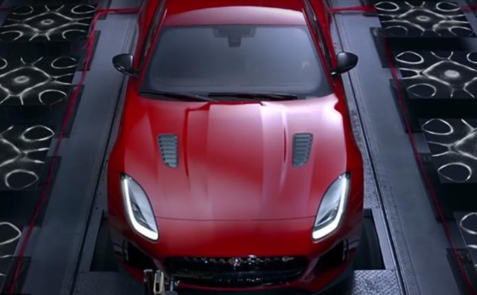 Jaguar показав звук двигуна купе F-Type SVR