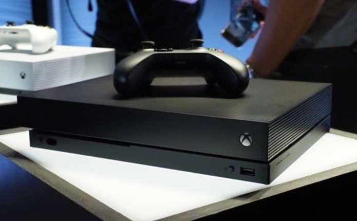 Microsoft представила найпотужнішу консоль Xbox One X