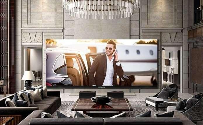 Представлений найбільший у світі телевізор 4К
