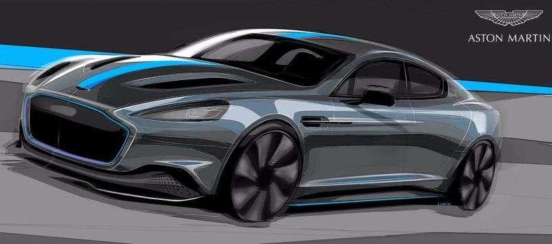 Електромобіль Aston Martin: перші зображення та ціна