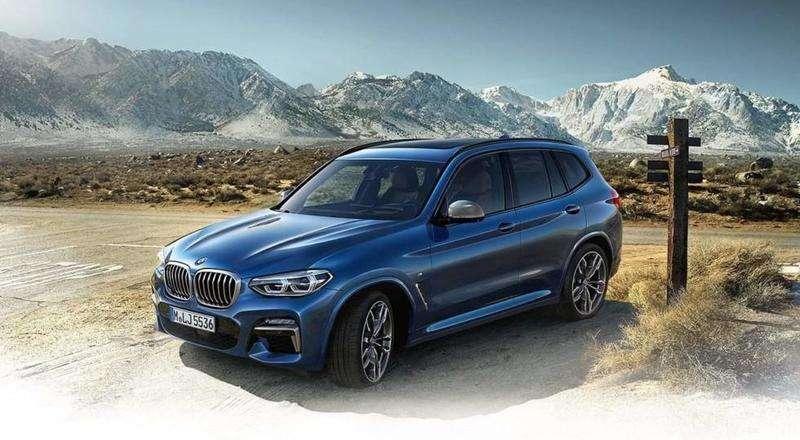 BMW X3 2018: перші офіційні фото та відео