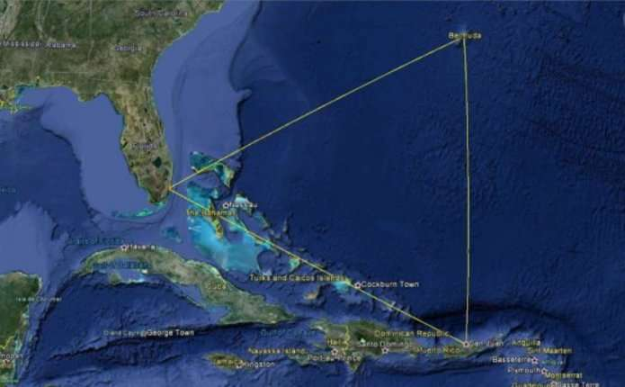 В межах Бермудського трикутника раптово виник невідомий острів