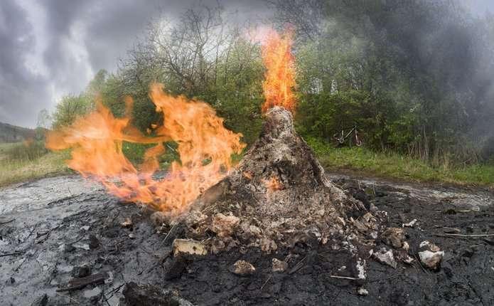 Єдиний у світі вулкан з бруду раз в сім років діє в Україні