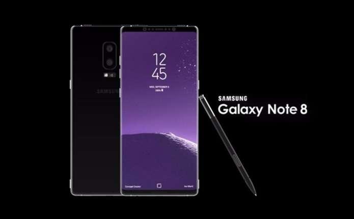 У мережу витекли ціна і характеристики Galaxy Note 8