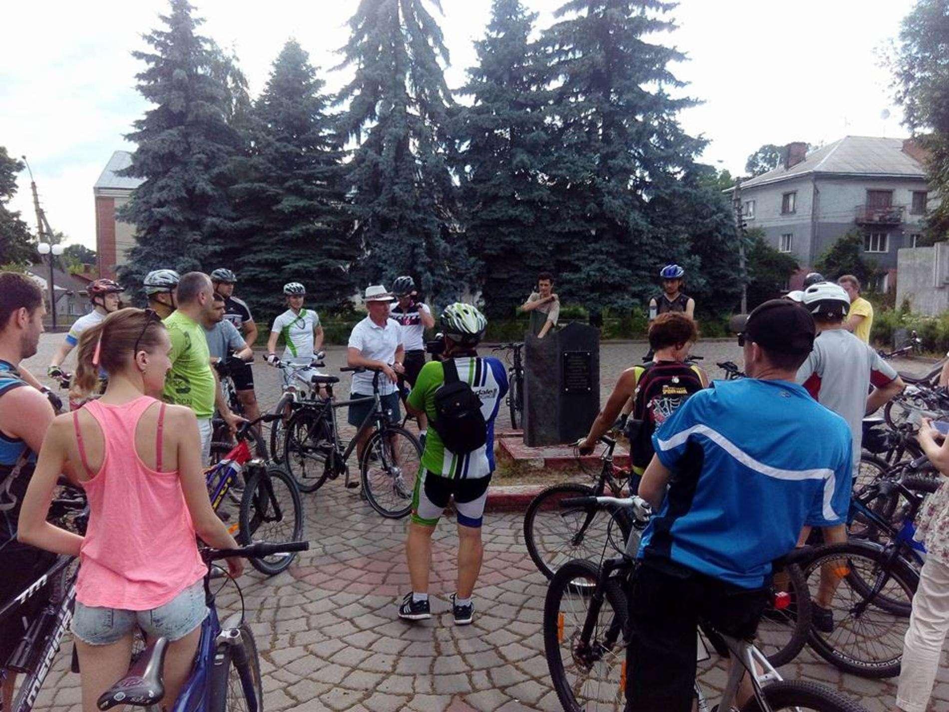 У Чернівцях пройшла перша велоекскурсія Таємниці Садгори
