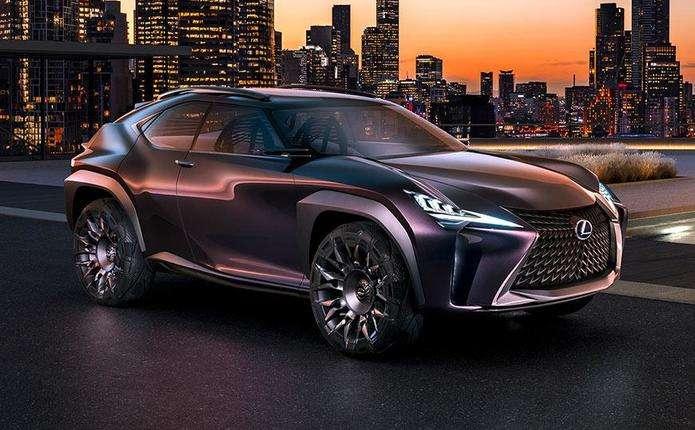 Lexus готує два нових кросовера