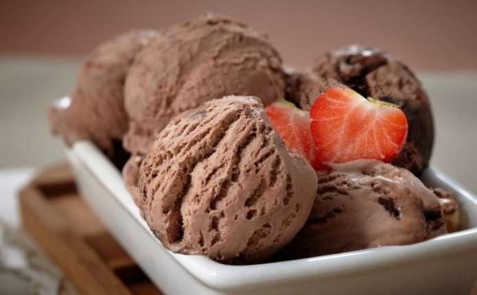 Як зробити шоколадне морозиво вдома