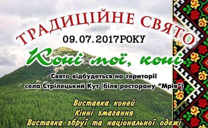 Кінні змагання відбудуться у Чернівецькій області