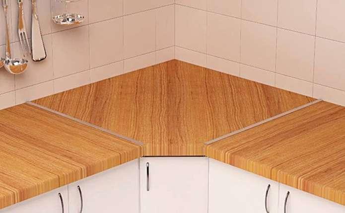 Як підібрати стільницю в нову кухню