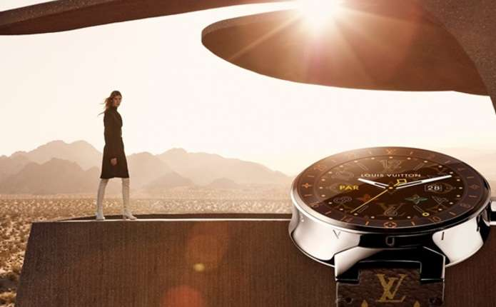 Louis Vuitton представив перший розумний годинник
