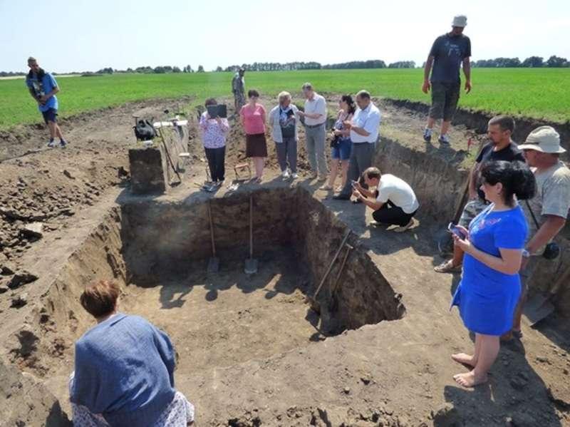 На Полтавщині археологи під час розкопок знайшли скіфське золото