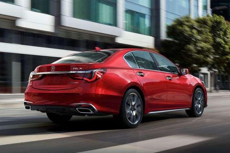 Японці оновили флагманський седан Acura RLX