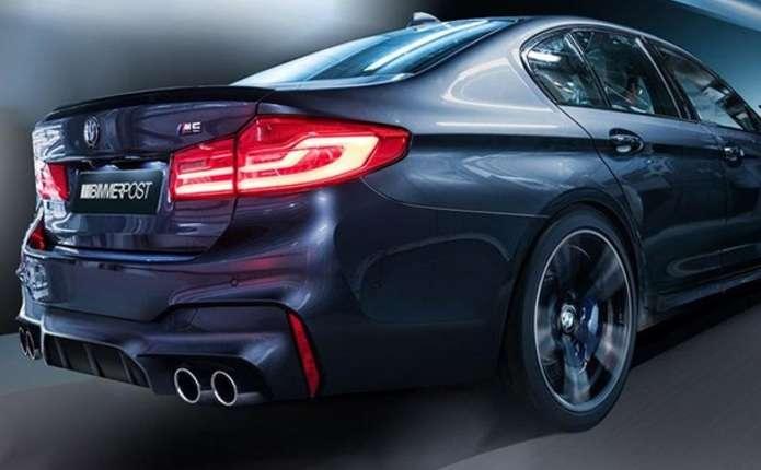 Оновлений седан BMW М5 засвітився на відео