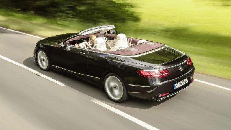 Оновлені купе і кабріолет Mercedes-Benz S-Class