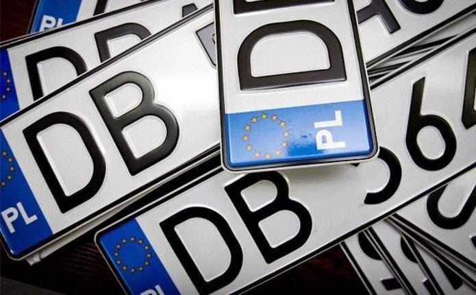 Майже 64 тисячі машин на єврономерах знаходяться в Україні незаконно
