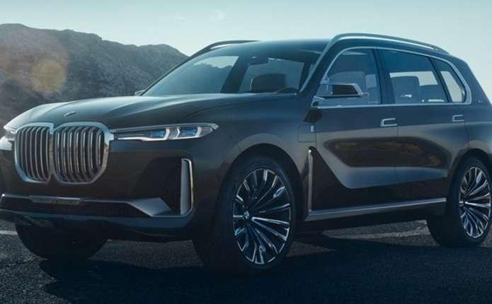 Розсекретили гігантський позашляховик BMW