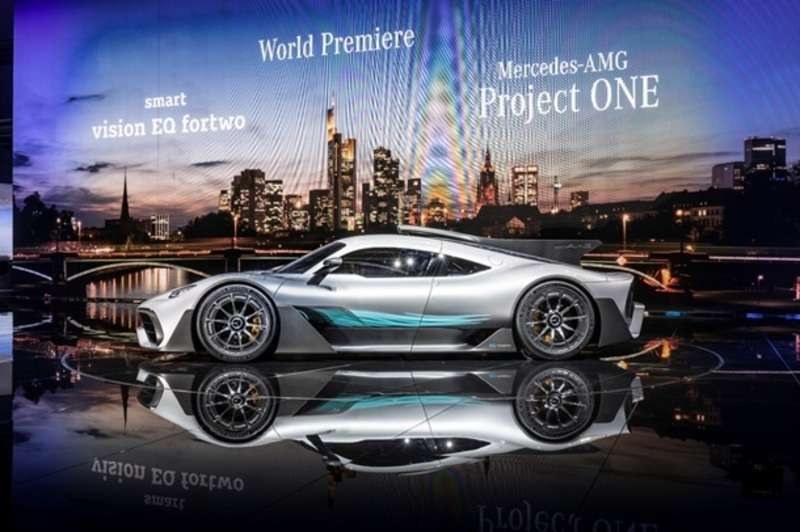 Mercedes-AMG представив гіперкар Project One