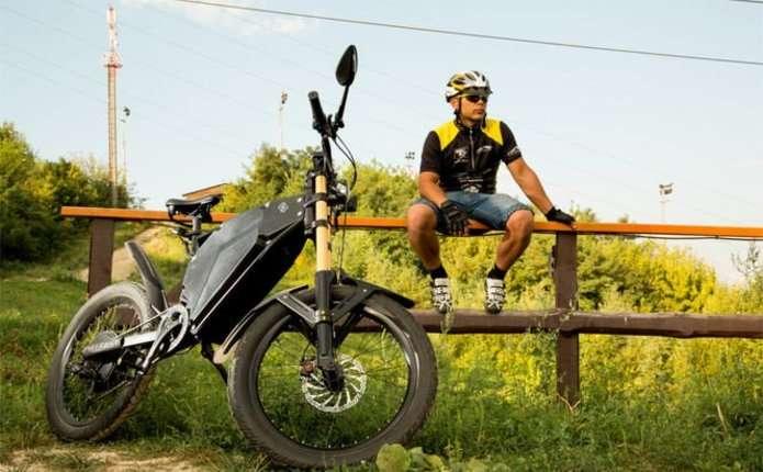 Українці створили електровелосипед Delfast Ebike