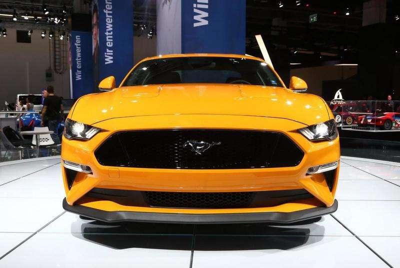 У Франкфурті дебютував оновлений Ford Mustang 2018