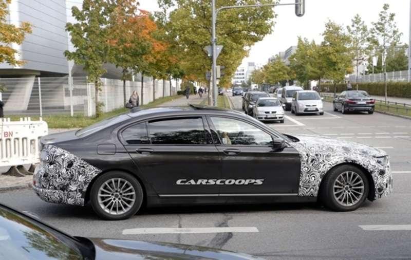 У Мережі з'явилися шпигунські фото BMW 7 Series