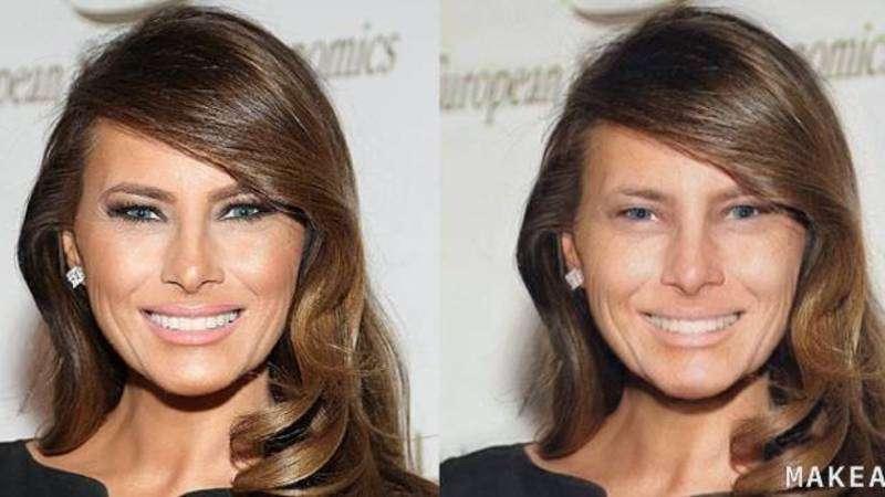 Створили додаток, який  показує обличчя дівчат без макіяжу