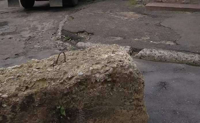 У Чернівцях почали ремонтувати вулицю Перяславську