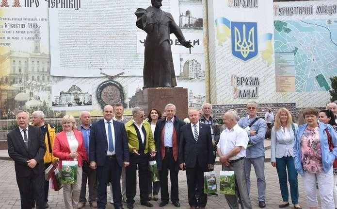 Асоціація земляцтв України відвідала Чернівецький національний університет