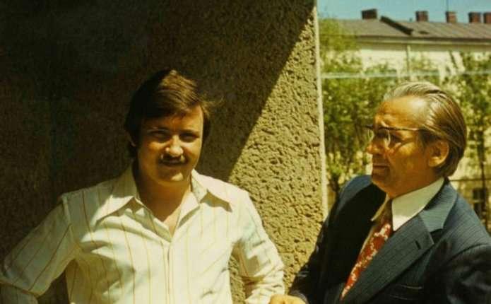 Володимир Івасюк любив гарний одяг і французьку мову