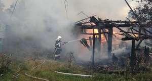 c284fa08666796 Пожежа на Сторожинеччині: вогонь знищив господарську будівлю