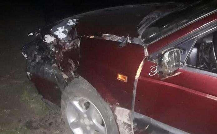 На Кіцманщині водій не впорався з керуванням і з'їхав у кювет