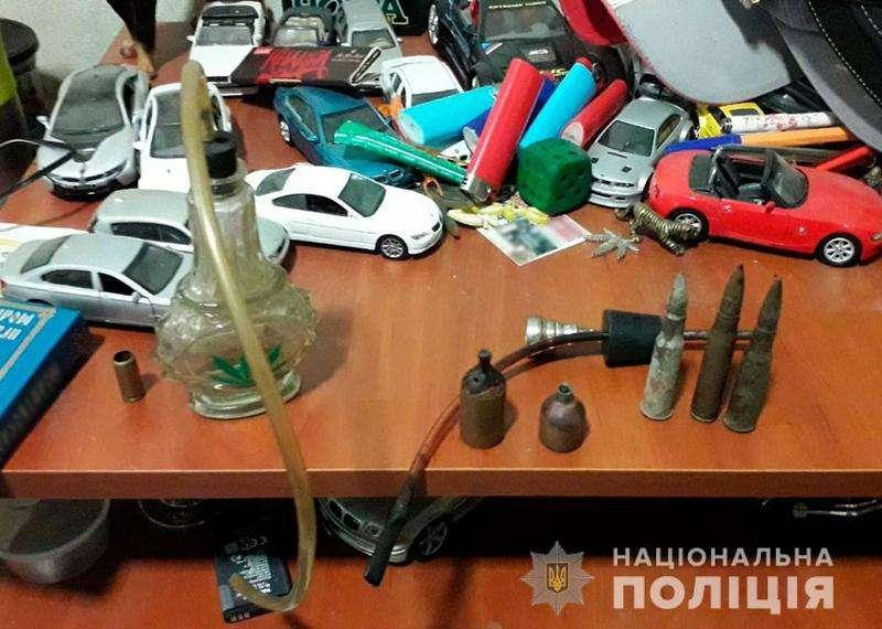 У буковинця поліція вилучила кілограм канабісу та набої