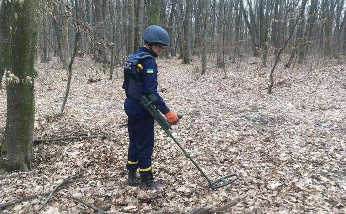 На Кіцманщині чоловік на власному подвір'ї знайшов два боєприпаси