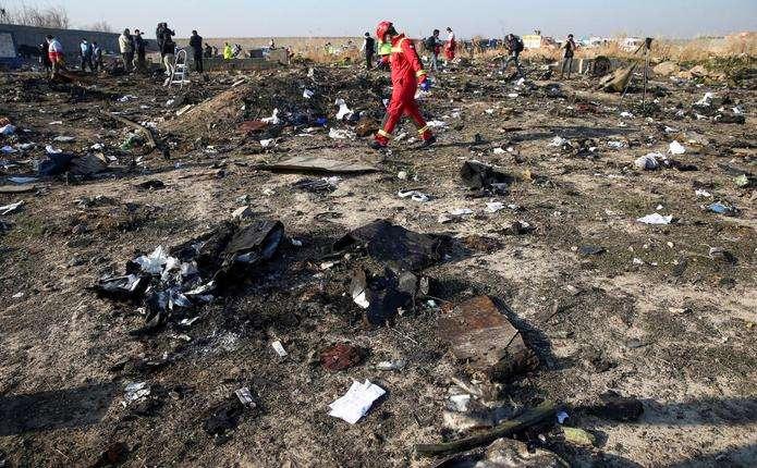 В Ірані назвали винного у збитті українського літака МАУ