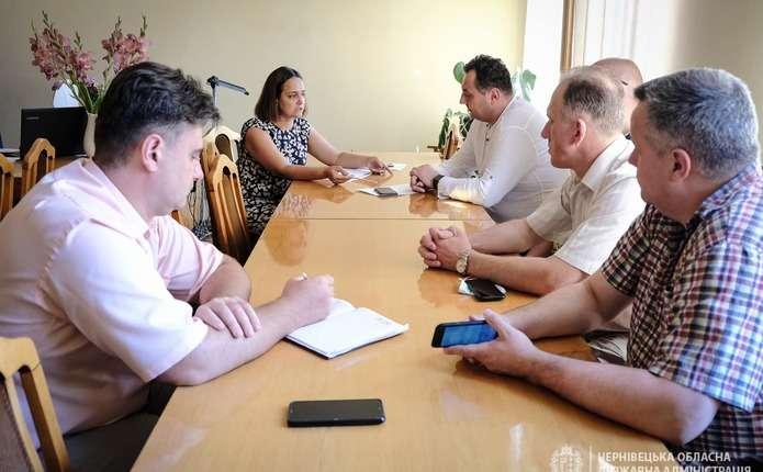 Планують реконструкцію приймального відділення обласної лікарні у Чернівцях