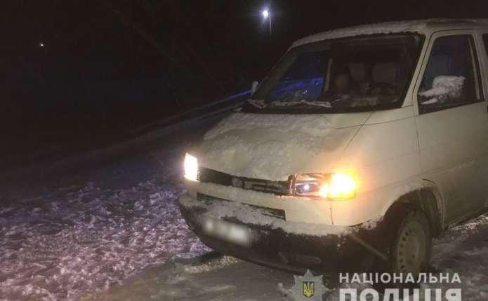 У селі Стара Жадова водійка мікроавтобуса збила двох неповнолітніх дівчат